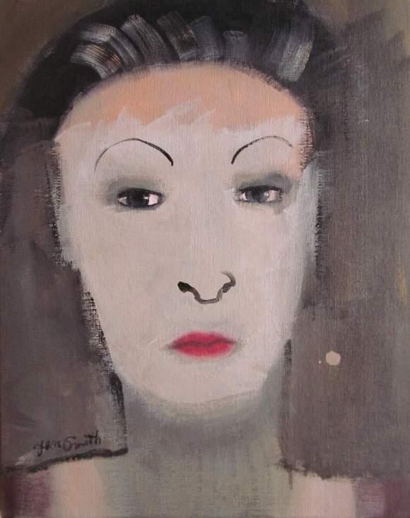 Kabuki #1 by Jean Smith
