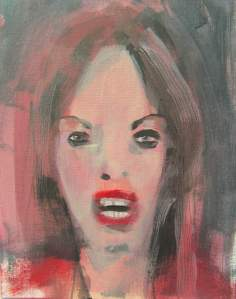 Jean Smith contemporary portrait painting $100 USD